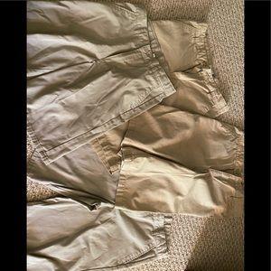 Boys size 18 school uniform shorts
